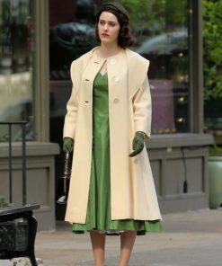 Rachel Brosnahan The Marvelous Mrs. Maisel Wool Coat