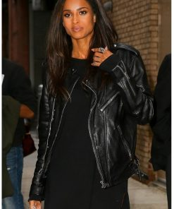 Singer Ciara Leather Jacket