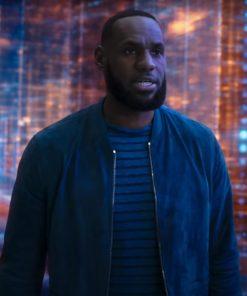 LeBron James Space Jam A New Legacy Blue Jacket