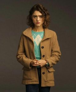 Stranger Things Season 3 Nancy Wheeler Brown Coat