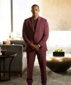 TV Series Solos (2021) Tom Maroon Blazer Suit