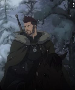 The Witcher Nightmare of the Wolf Vesemir Coat