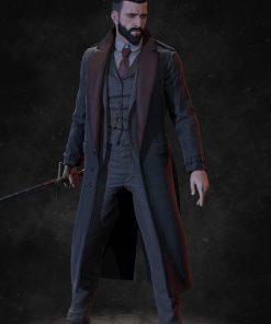 Vampyr Jonathan Reid Cosplay Coat