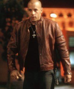 Vin Diesel Fast & Furious Brown Leather Jacket
