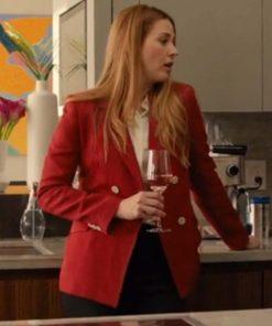 Virgin River S03 Melinda Monroe Red Blazer