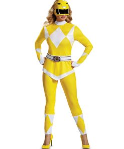 Yellow costumes Power Ranger for woman - Power Rangers Mighty Morphin