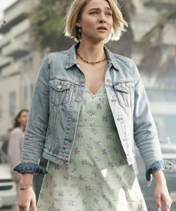 Zyra Gorecki in La Brea (2021)Denim Jacket