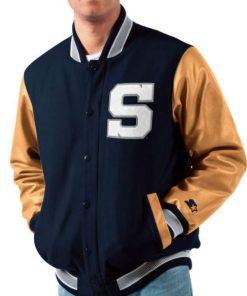 penn state nittany lions varsity jacket