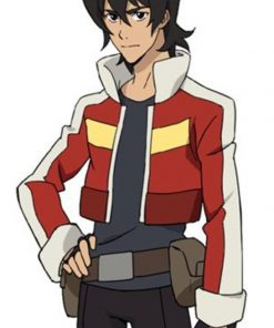 Keith Voltron Red Leather Cosplay Jacket