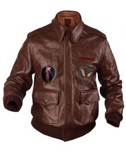 Flying Tigers A-2 Fighter Leather Jacket