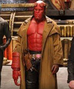 Hellboy David Harbour Leather Coat