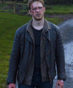 Holiday Monday Colin MacDougall Black Leather Jacket