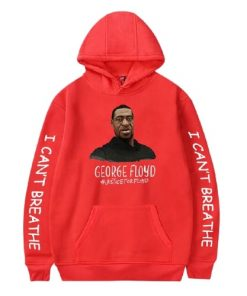 I Can't Breathe Casual Men's Hooded