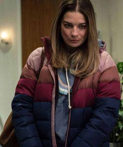 Allison McRoberts Kevin Can F**k Himself Annie Murphy Puffer Jacket