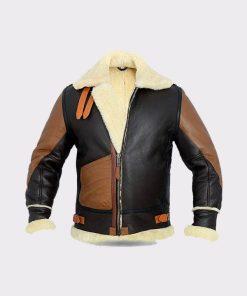 Mens B3 Aviator Shearling Sheepskin Jacket
