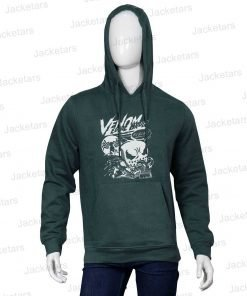 Venom Wears Venom Green Hoodie