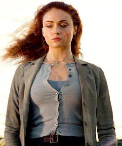 X-Men Dark Phoenix Jean Grey Trench Coat