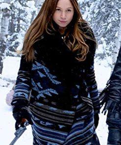 Wynonna Earp Season 04 Dominique Provost-Chalkley Wool Coat
